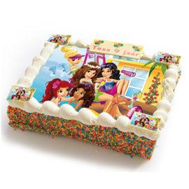 Lego Friends strip taart-0