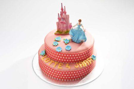 Prinsessen stapel taart-0