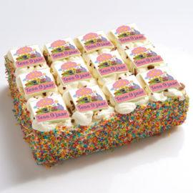 Woezel en Pip stripjes taart-0