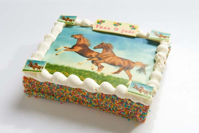 Extreem Paarden strip taart – Bakkerij van Dongen @IU44