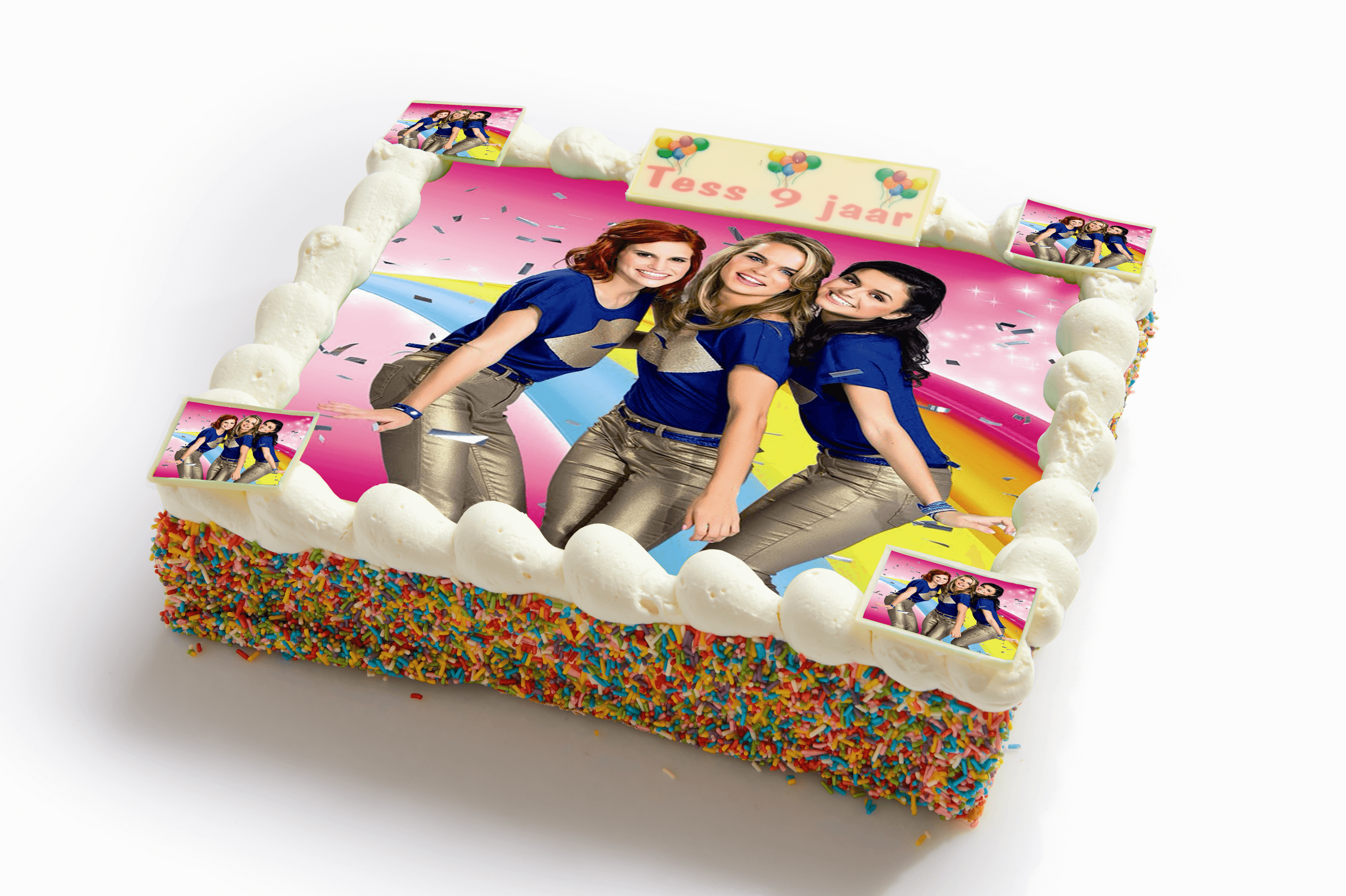 K3 strip taart