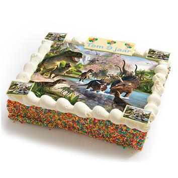 Dino's strip taart