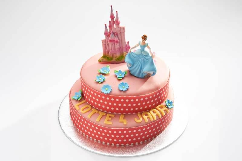 Prinsessen stapel taart