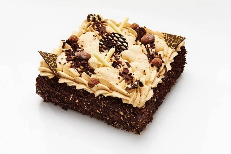 Mokkaslagroom taart