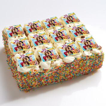 Lego Friends stripjes taart