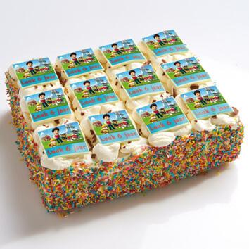 Paw Patrol stripjes taart