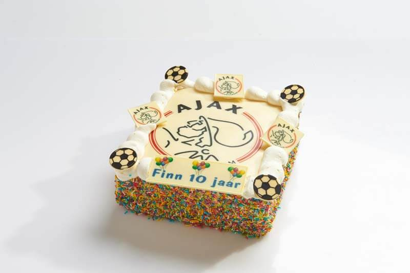 Ajax strip taart