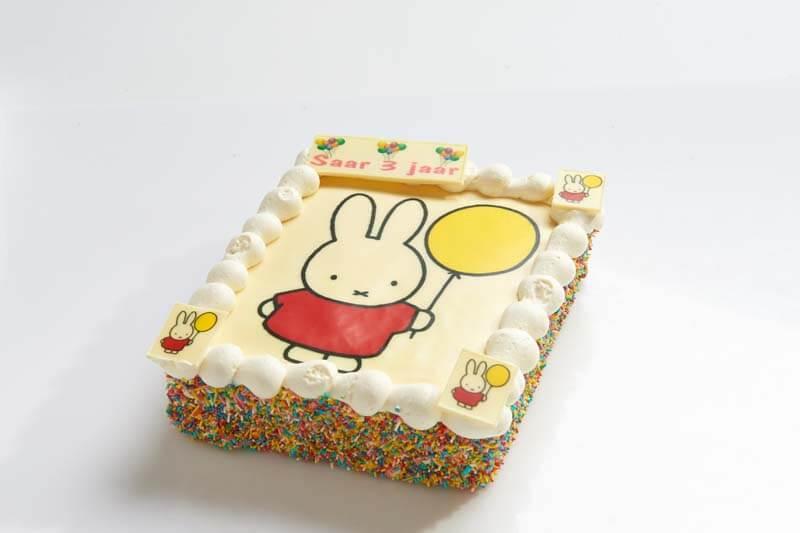 Nijntje strip taart