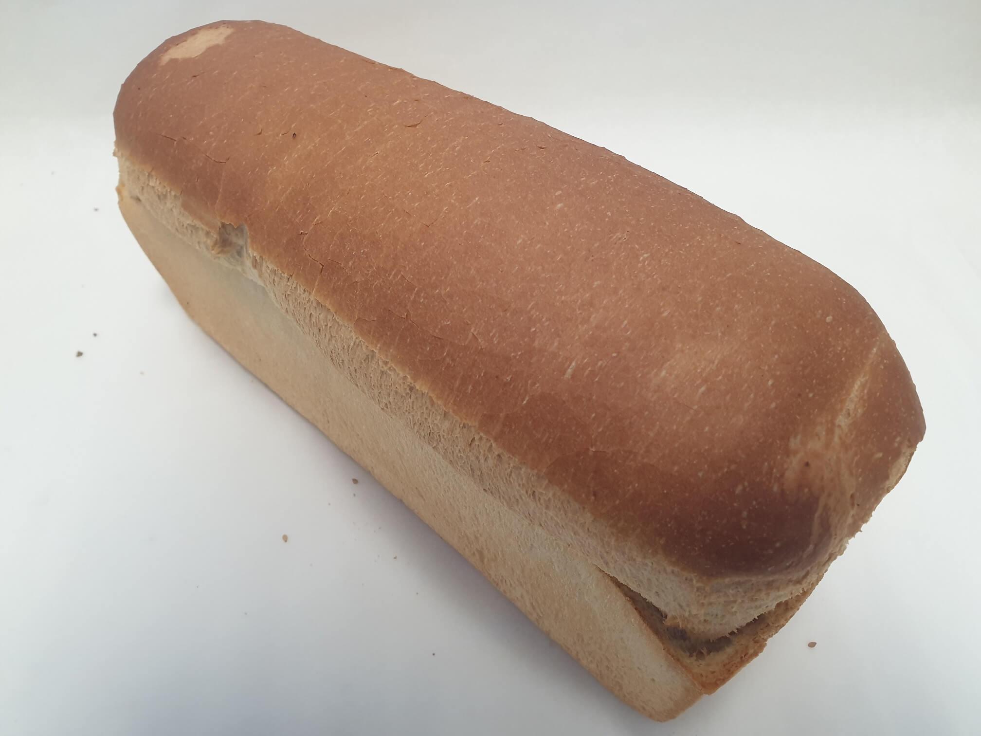 Witbrood gesneden