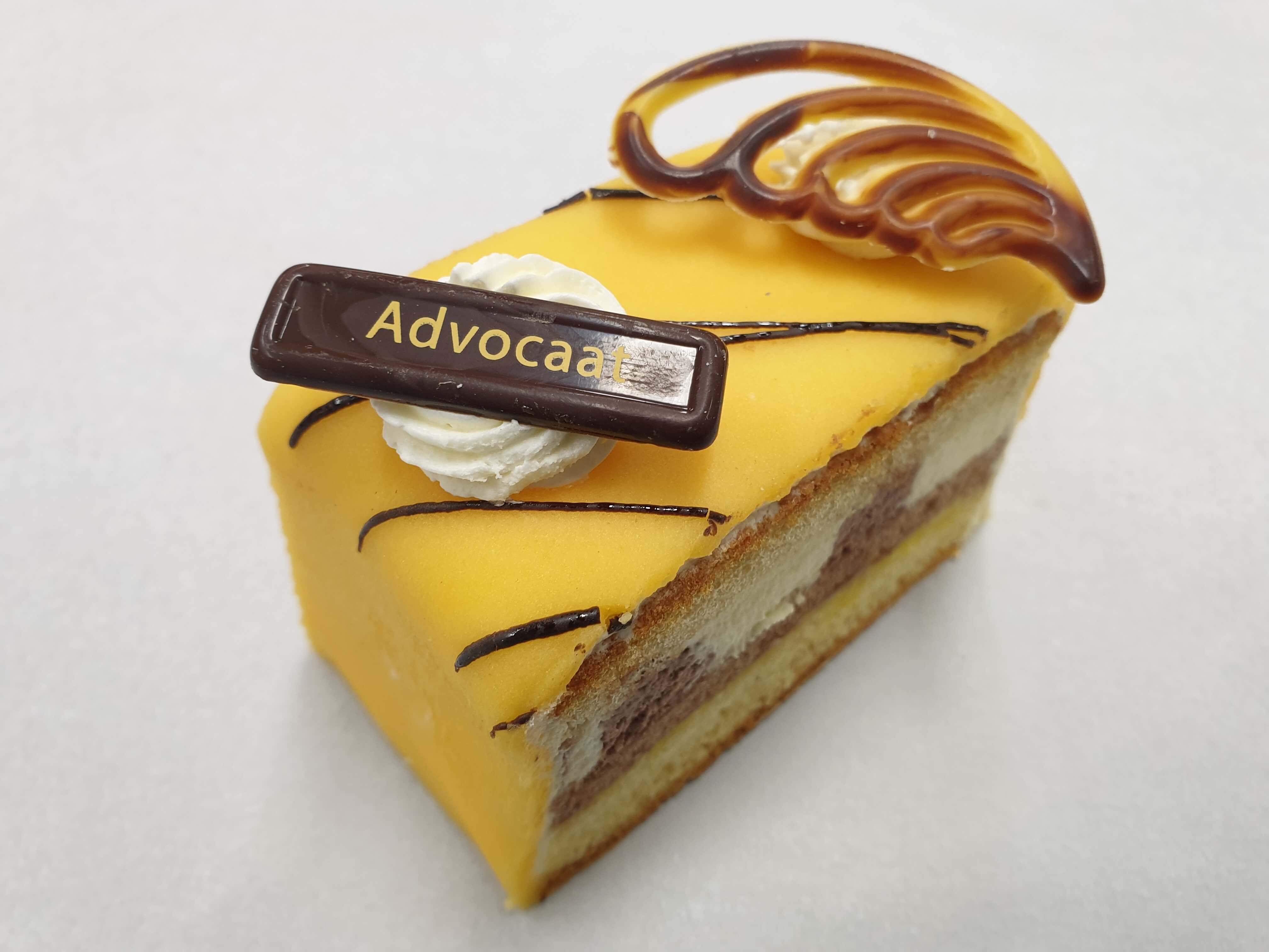 Advokaat gebak