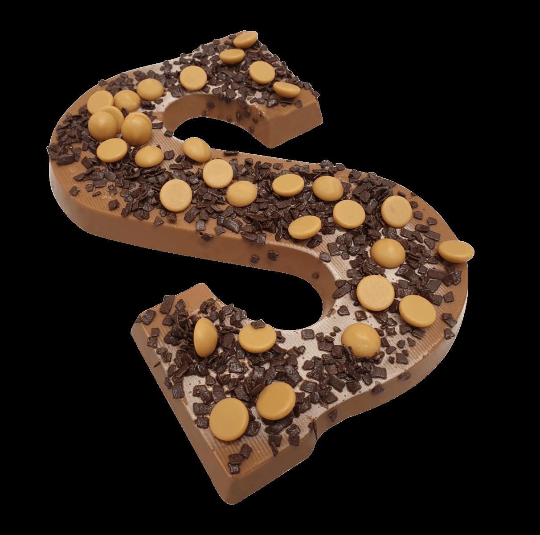 Chocoladeletter 220 gram MELK KARAMEL