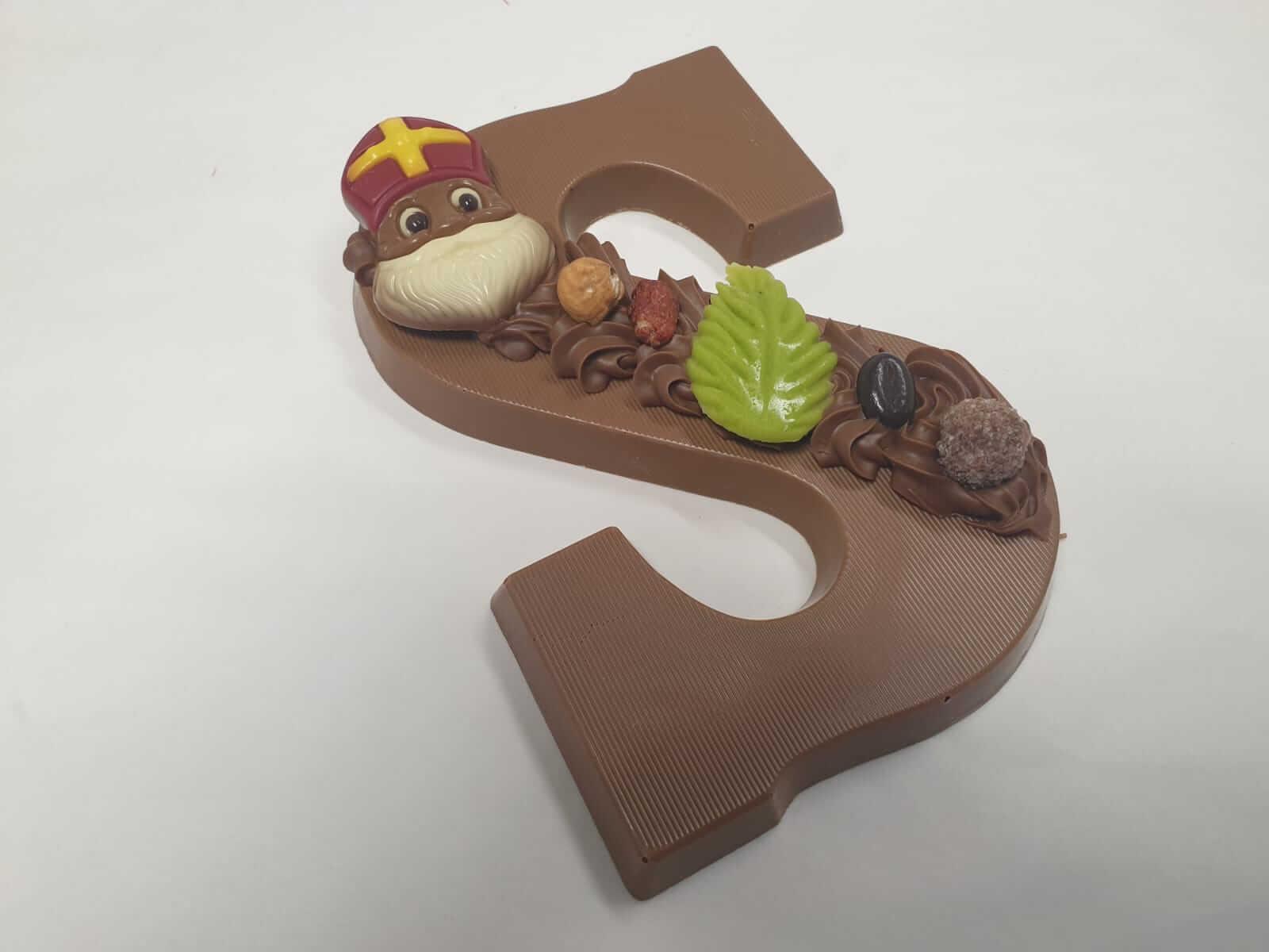 Chocoladeletter Praline 250 gram GEVULD