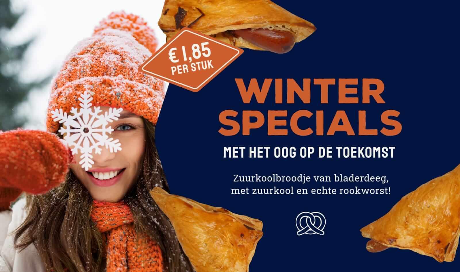 Winter Special! Zuurkoolbroodje