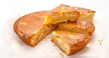 Gevuld boterkoek taartje